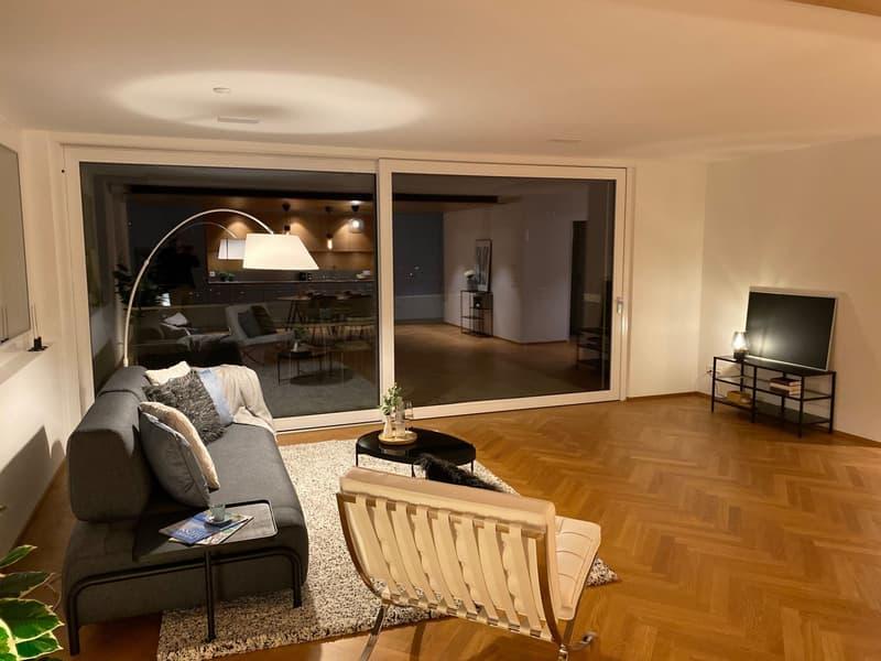 """4 1/2-Zimmer Terrassenhaus  """"Niesen Ebene 3"""" (13)"""