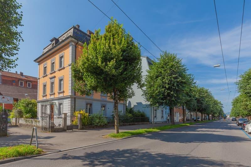 Mehrfamilienhaus mit vier Wohnungen an der Dufourstrasse (2)