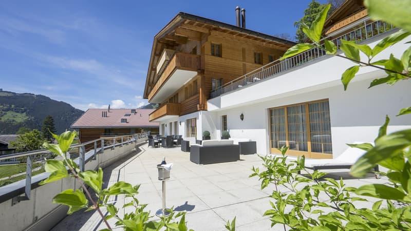 Modernes Mehrfamilienchalet Rotstöcki mit 3 Wohnungen (2)