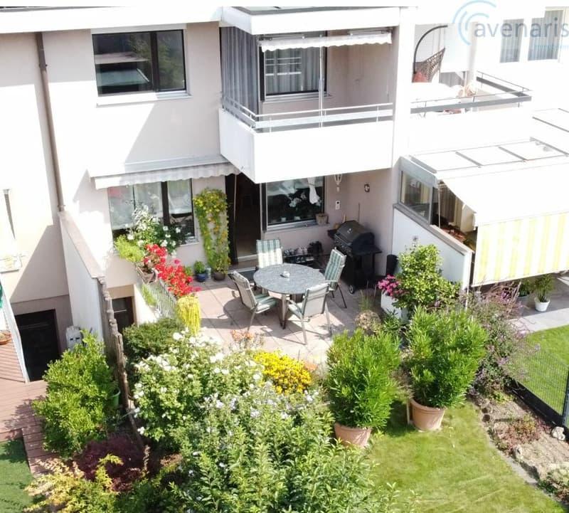 Zentrales und ruhiges Reihenhaus mit gepflegten Garten (1)