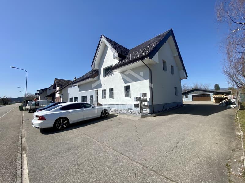 MFH mit Gewerbeteil, Nebengebäuden und grossem Grundstück (1)
