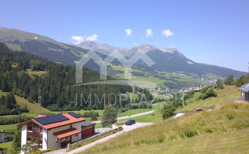 Attraktives Baugrundstück mit unverbaubarer Aussicht bei Savognin (1)