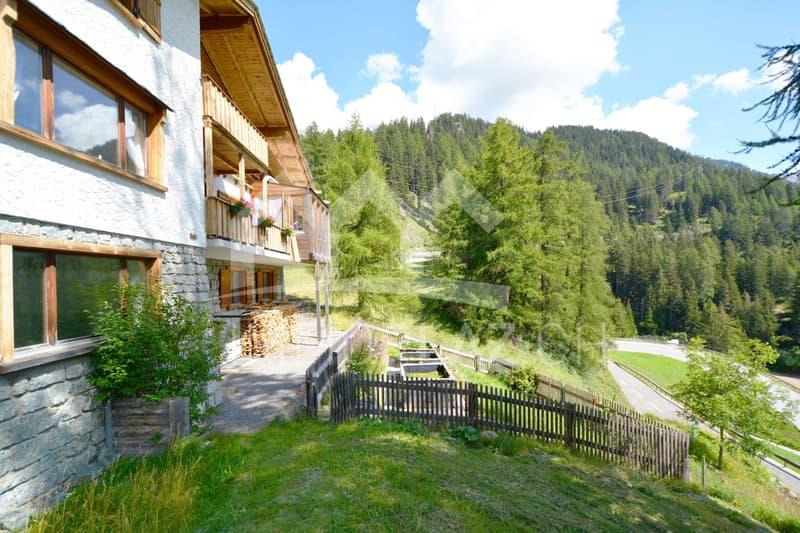 Charmantes Mehrfamilien- Chalet im Herzen von Graubünden (2)