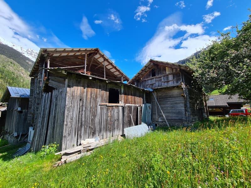 Deux granges à rénover - Champsec - EXCLUSIVITE (2)