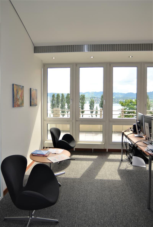 Einzelbüro mit Seesicht