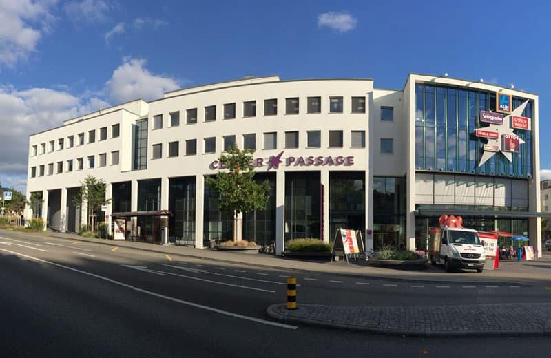Pooling Parkplatz im Einkaufszentrum CENTER PASSAGE (1)