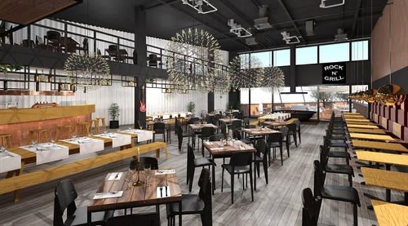 Visualisierung möglicher Restaurantausbau