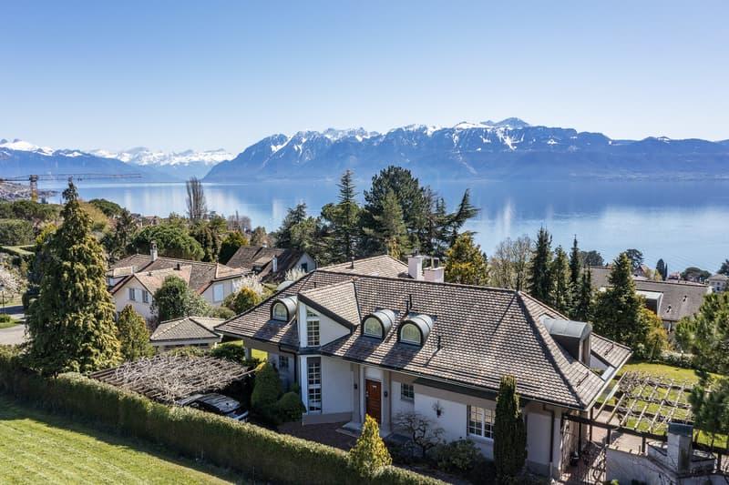 Paudex - Magnifique maison de maître avec vue sur le lac (1)