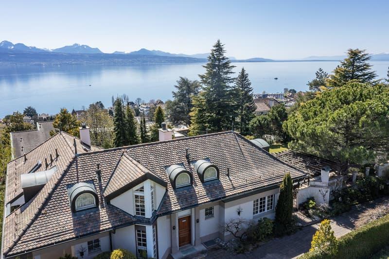 Paudex - Magnifique maison de maître avec vue sur le lac (2)