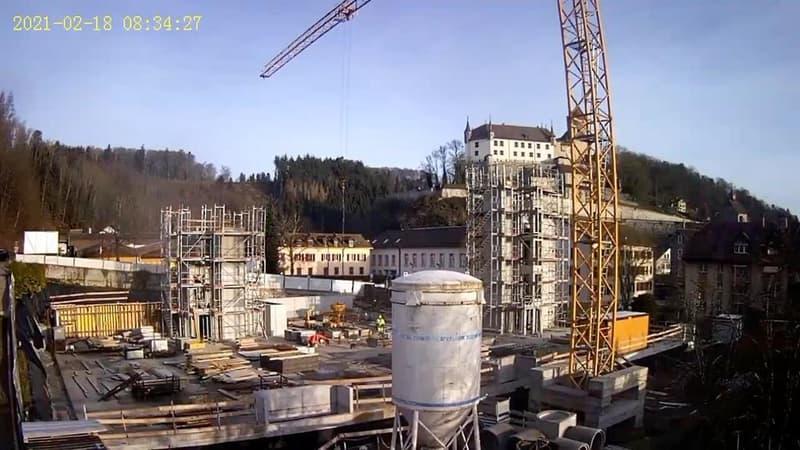 chantier fin février