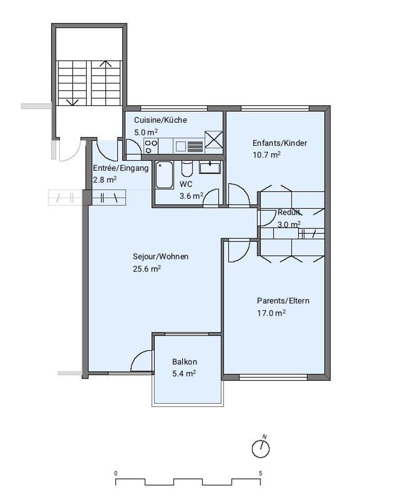 3.5 Zimmerwohnung in Péry (9)