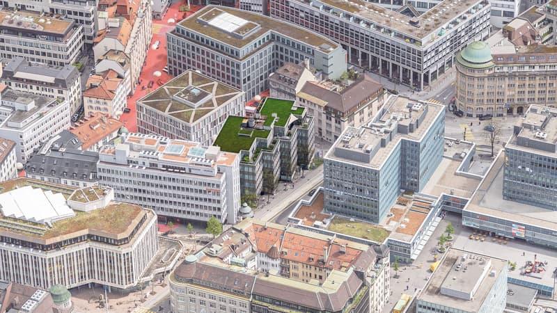 ausgebaute Bürofläche mit Dachterrassenzugang (1)