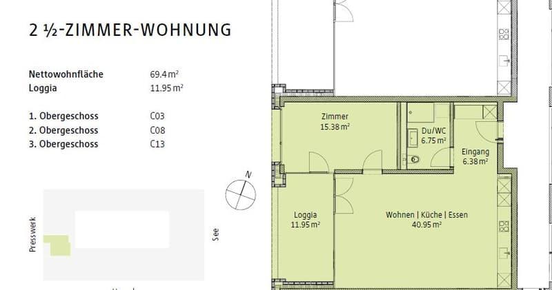 Erstvermietung einer wunderschönen Genossenschaftswohnung direkt am Bodensee (7)