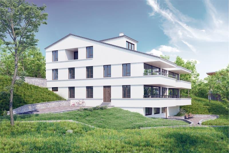 Bauland mit Projektstudie (2)