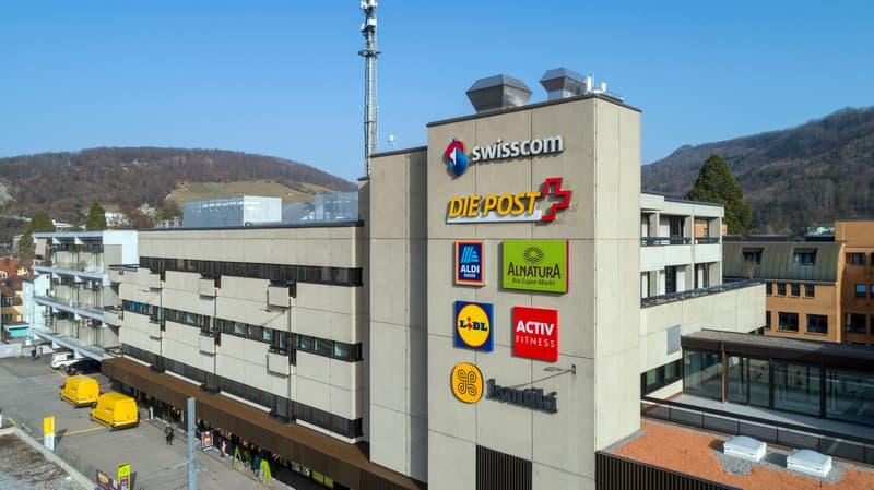 Lager mitten in der Stadt Baden mit eigenem Parkplatz (1)