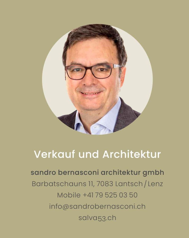 Verkauf und Architektur