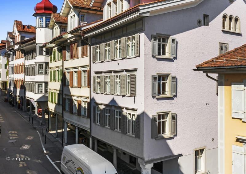 Geschichte modern gemacht - komplett renovierte Stadtwohnung mit Charme (1)