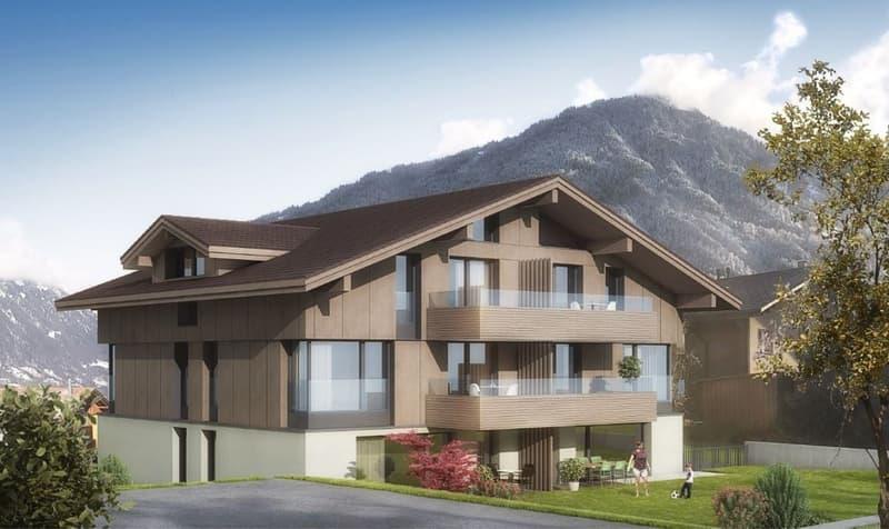 Neubau - 3.5 Zimmerwohnung im Zentrum von Wilderswil (2)