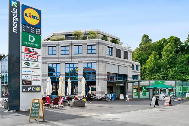 «Attraktive Verkaufsfläche im Einkaufscentrum Mergele zu vermieten» (2)