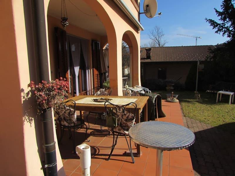 Casa a schiera di 5.5 locali a Cassina d'Agno (1)
