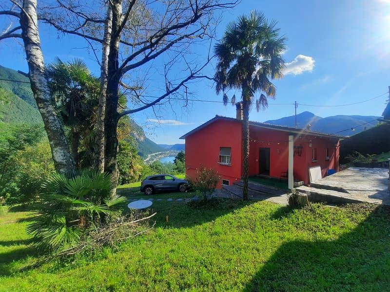 Tranquillità, Soleggiato, Stupenda Vista sul Lago, Montagne, Terreno Residenziale Edificabile (4)