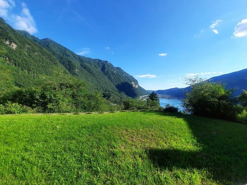Tranquillità, Soleggiato, Stupenda Vista sul Lago, Montagne, Terreno Residenziale Edificabile (2)