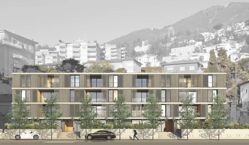 RESIDENZA RAMOGNA - Vendesi nuovo appartamento 3.5 locali al 2°P (1)