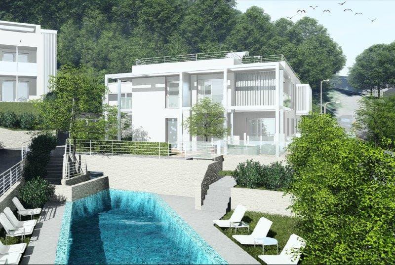Nuovo 4.5 vista aperta giardino e piscina (12)