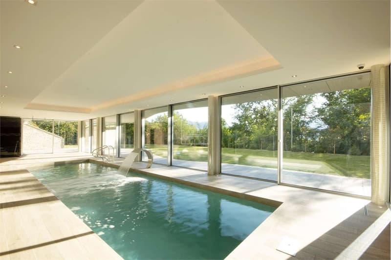 Lussuosa Villa con piscina e vista lago (2)