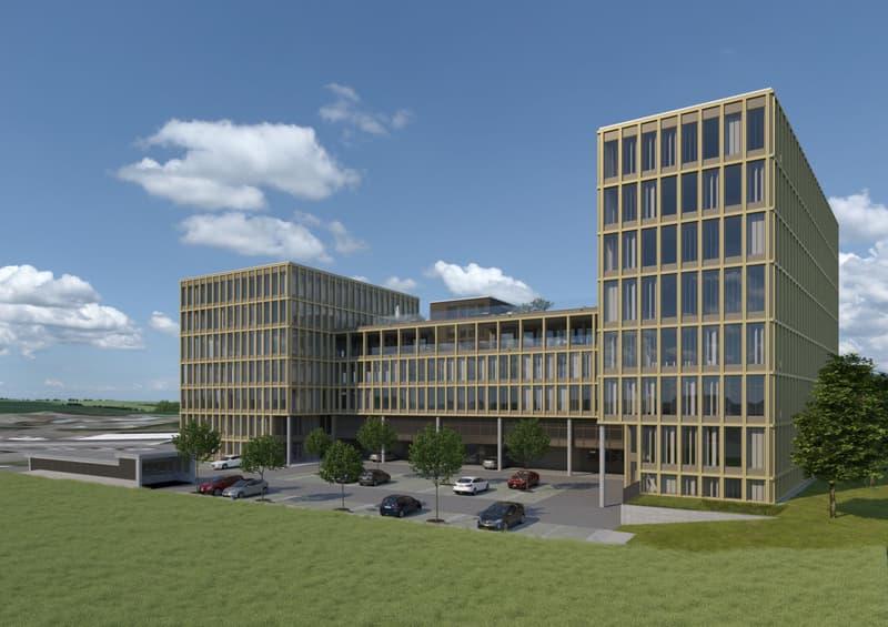 Erstvermietung: Modernste Büro- und Geschäftsflächen im Lumen Park (1)