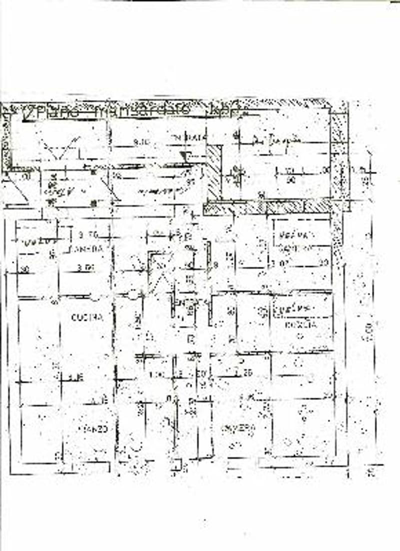 Pianta / Grundriss 2. Obergeschoss