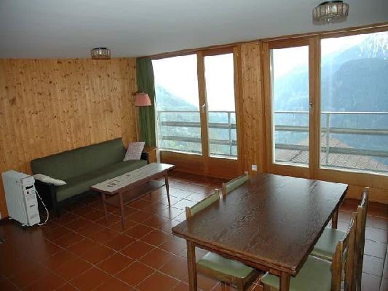 Soggiorno sopra / Wohnraum im Dachgeschoss