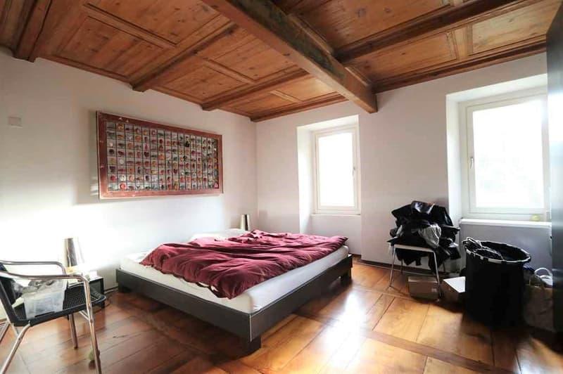 schöne 5 1/2-Zimmer-Duplex-Wohnung mit grossem Garten / bell'appartamento duplex di 5 1/2 locali con giardino (2)