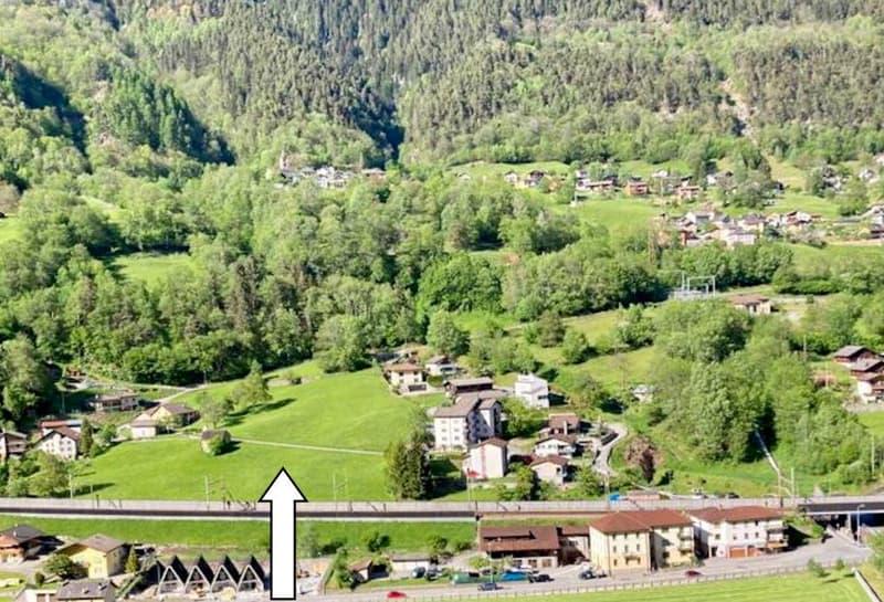 grosses Baulandgrundstück von 5897m2 mit schöner Aussicht / terreno grande edificabile di 5897 m2 (1)