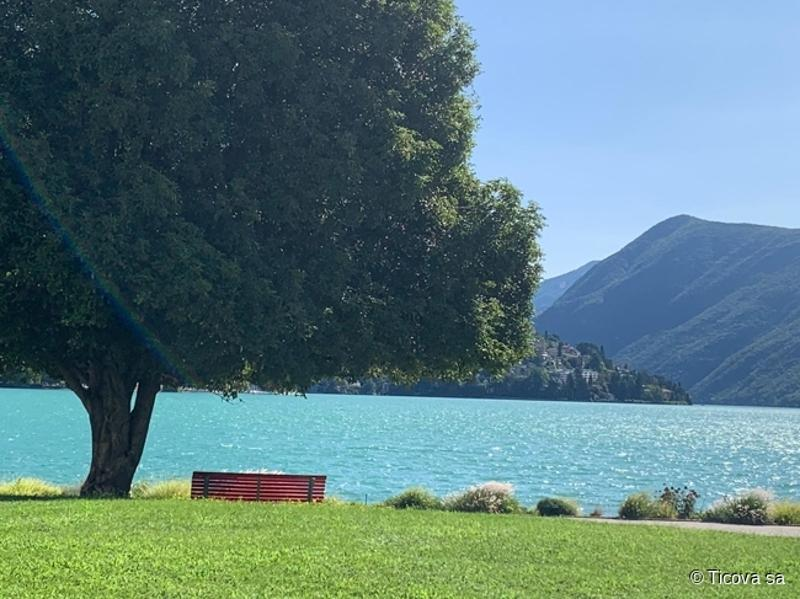 Lugano - Penthouse situato al 6°con vista lago (1)