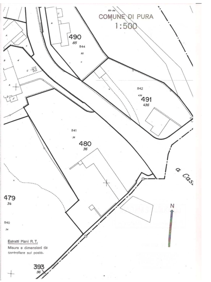 Splendido terreno edificabile con casa da riattare o ampliare 2435 m2 (8)