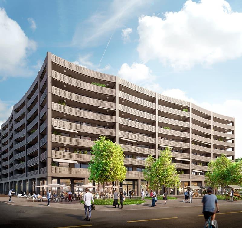 Moderne und möblierte Wohnungen mit 2.5 Zimmern und Balkon (10)