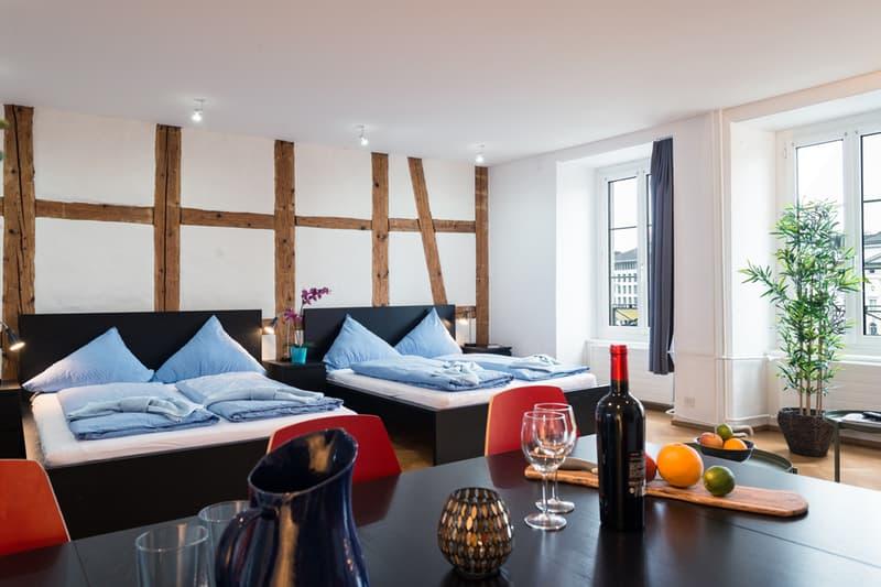 Helles 3.5-Zimmer Apartment bei Kappellbrücke (1)