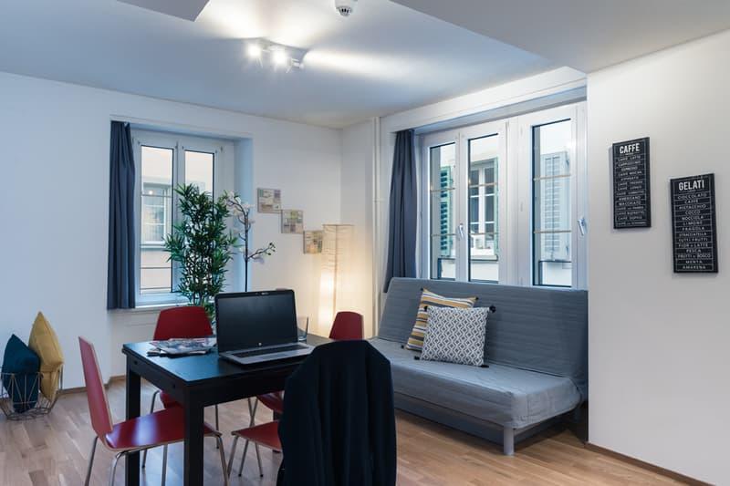 Moderne 2-Zimmerwohnung in Luzerner Altstadt (2)