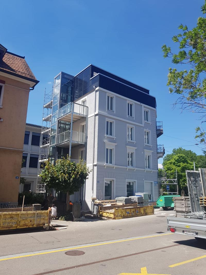 Möblierte 2-Zimmerwohnungen in Zürich Altstetten (8)