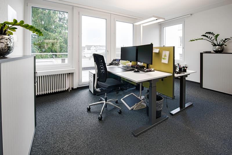 Separate Büroräume