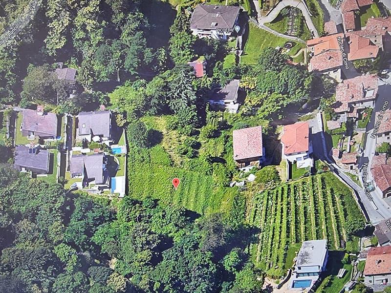 Terreno Edificabile a Cimo, Vista aperta sul Golfo di Lugano ed i suoi Laghi (12)