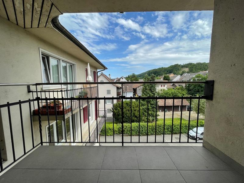 Balkon bei Küche