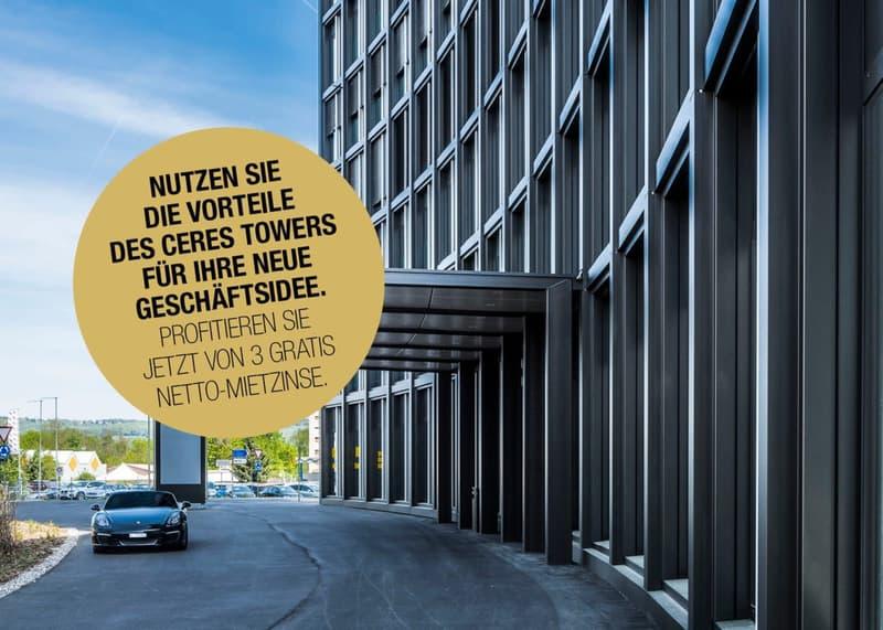 Repräsentative Büroflächen im 1. Obergeschoss des Ceres Tower zu vermieten! (1)