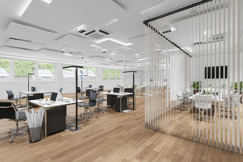 3 Monate gratis! ca. 673 m² ausgebaute Büroflächen im Zentrum von Ostermundigen (1)