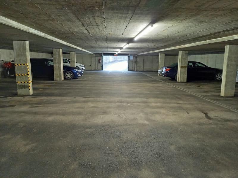 Tiefgaragenplätze am Grünauweg 15-19 in Unterkulm (2)