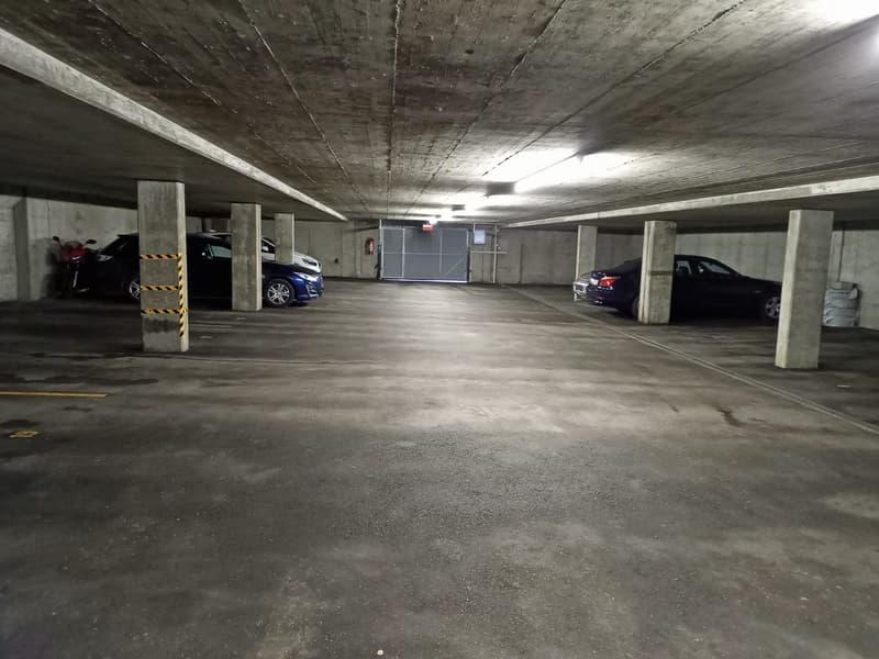 Tiefgaragenplätze am Grünauweg 15-19 in Unterkulm (1)
