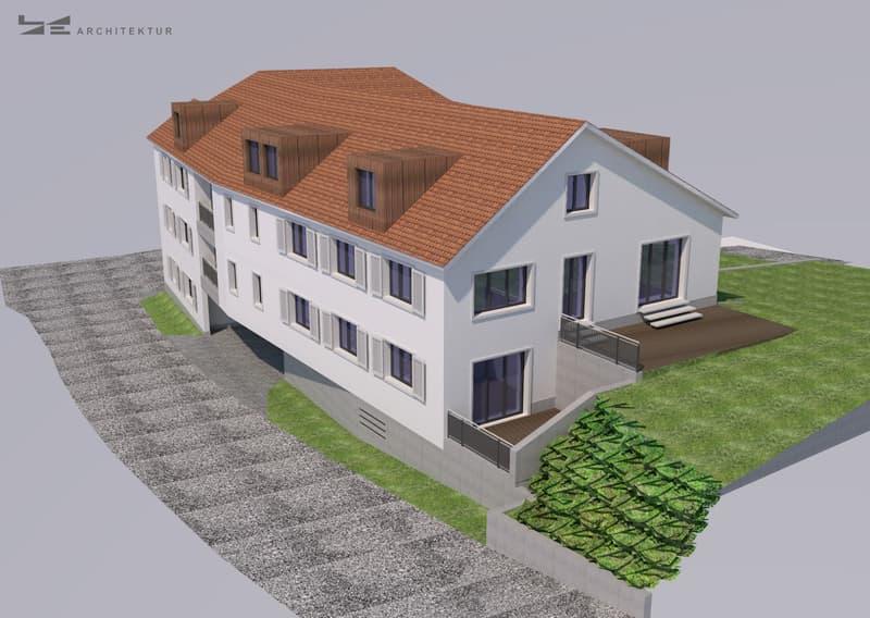 Erstvermietung - attraktive 4.5-Zimmer-Dachwohnung mit Wintergarten (8)