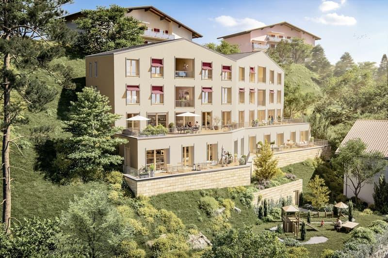3.5 Zimmer Gartenwohnung Neubau Casa Nido Thusis (1)