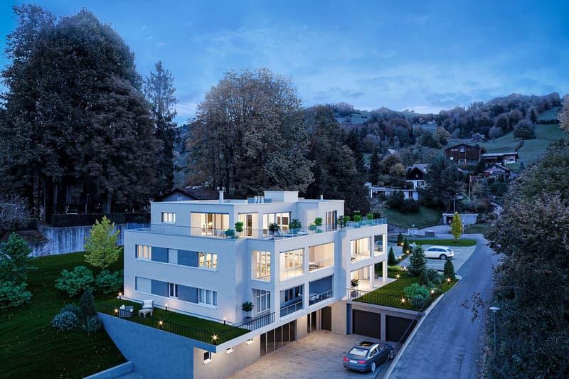 Projektankündigung: ruhig gelegene und zentrumsnahe 3.5-Zimmer-Wohnungen (2)